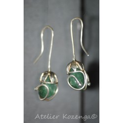Boucles d'Oreilles Brazil